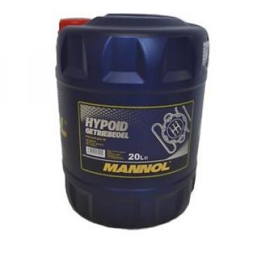 20 Liter Hypoid Getriebeöl Schaltgetriebe Achsen GL5 MANNOL SAE 80W-90