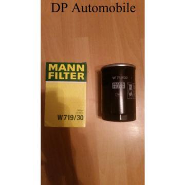1 Jahr Rückgaberecht!!! Ölfilter Mann-Filter W719/30 Audi Seat Skoda VW
