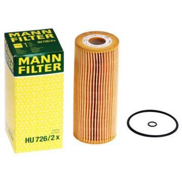 Mann Filter Hu726/2x Ölfilter für VV Audi Seat Skoda Diesel Motoren Öl Filter