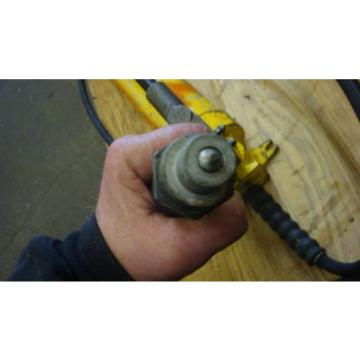 Enerpac Porta Power P-80 Hydraulic Hand Pump 10,000 PSI WORKS FINE