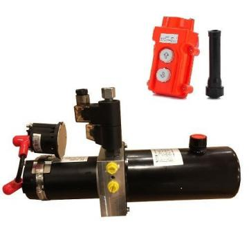 PPD-12-800-75S 12VDC hydraulic double acting power pack 2000psi steel