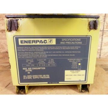 Enerpac Pneumatic Hydraulic Pump Model PAM9408N 10000 PSI