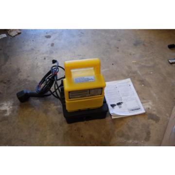 ENERPAC PUD-1100B HYDRAULIC PUMP T-481-110 PARKER CRIMPER PUMP 10000 PSI DUMP VA