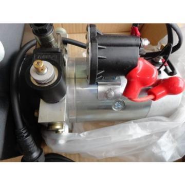 New Single Acting Hydraulic Pump 12v Dump Trailer 10 Quart metal Reservoir