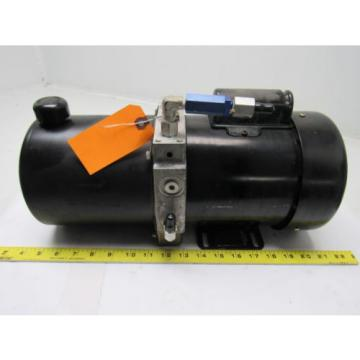 John S. Barnes Corp C6C17FZ5A Hydraulic Pump w/Leeson 1/2 HP Motor 115/208-230V