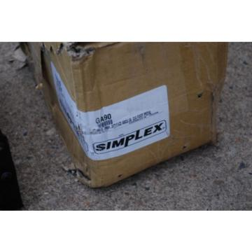 "SIMPLEX GA90 AIR POWERED HYDRAULIC FOOT PUMP 10,000 PSI 1/4"" AIR PORT NEW"