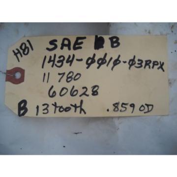SATOH MITSUBISHI BOLEN SEIKI 1434 HYDRAULIC PUMP SAE B 1434-0010 03RPX