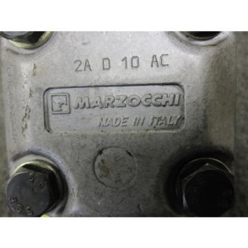 NEW MARZOCCHI HYDRAULIC PUMP # 2A-D-10-AC