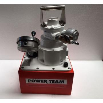 SPX Power Team PA554 Air Operated Pneumatic Power Pack 10,000 PSI/700 Bar