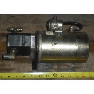 Time Manufacturing/ Fenner Hydraulic Pump P/N55007-1. 1787*AC 12 VDC