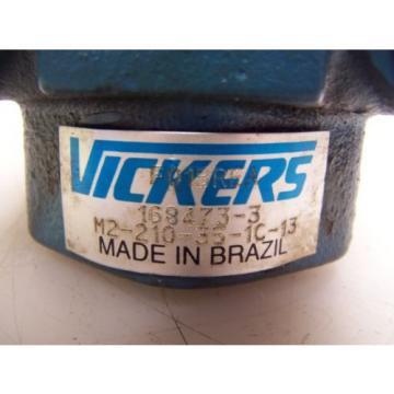 NEW VICKERS HIGH SPEED HYDRAULIC VANE PUMP M2-210-35-1C-13