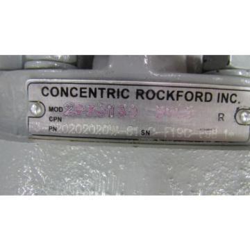 CONCENTRIC ROCKFORD 2993150 5113 R MULTI STAGE MULTI PORT HYDRAULIC PISTON PUMP