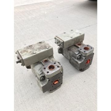 Oil-Gear Hydraulic Pump PVQ32LDFYCNT Thru-Drive Oilgear Old Surplus Units PVQ 32