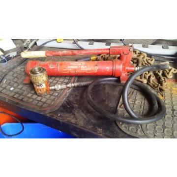 Dayton  Porta Power Hydraulic Press Pump