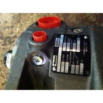 PAVC65R4M13 Parker Hydraulic Motor Div PISTON PUMP
