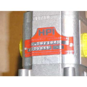 **NEW** HPI HYDROPERFECT INTERNATIONAL A5071049, 71152866, HYDRAULIC PUMP