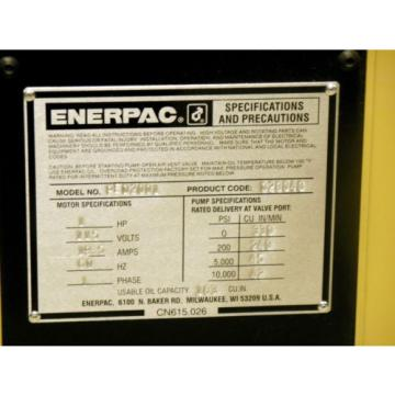 Enerpac PED 2001 2HP/1PH Electric Hydraulic Pump w/ C H Bull TEM1BS-30 Crimper