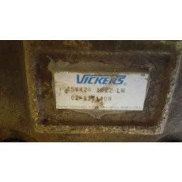 VICKERS VANE PUMP 45V 42A 1A22 LH 02-137140R