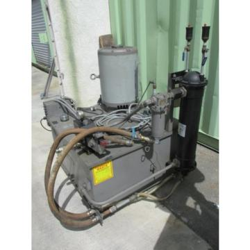 50 HP INSTRON A427-47 HYDRAULIC PUMP 80 GALLON CAPACITY 3000 PSI MAX