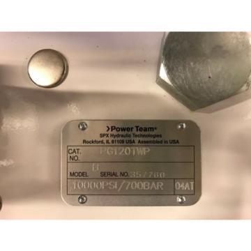 SPX PG120TWP HYDRAULIC TORQUE PUMP (GASOLINE)