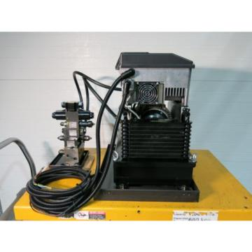 Hydraulic Power Supply With Control Valves Sharp