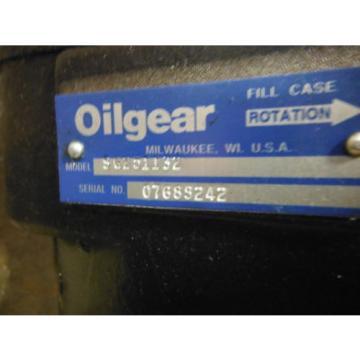 OILGEAR HYDRAULIC PUMP SG201132 ~ USED