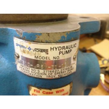 VICKERS HYDRAULIC PUMP MOTOR PVB10-RSY-31-C-11