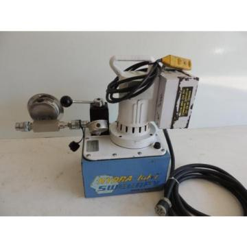 SWEENEY HYDRATIGHT X1E1 ELECTRIC HYDRAULIC PUMP FOR TORQUE WRENCH  10,000 PSI