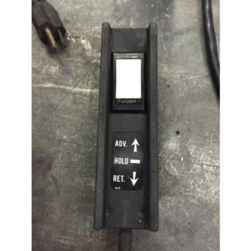OTC POWERTEAM PE213S 10,000 psi HYDRAULIC PUMP single acting 1HP, 115/230v 1 ph
