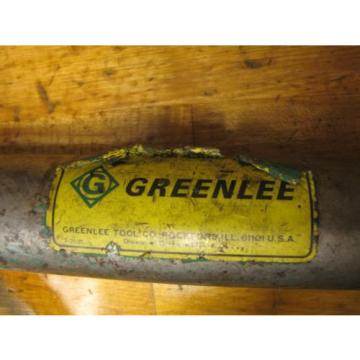 Greenlee Hydraulic Hand Pump 767 With assorted extras Tested Works.