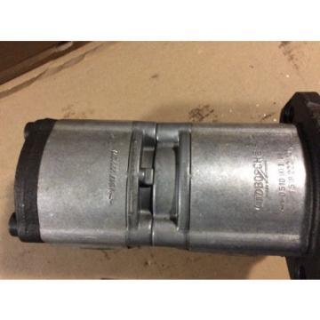 Bosch 0510901005 Tandem Hydraulic Pump 3600 Psi 25hp 3500 Rpm 7.6 & 3.9 Gpm
