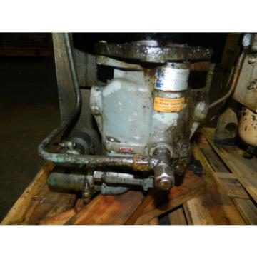 5 HP Hydraulic Unit w/ Vickers Pump, Type# PVB15RSY31CM11, Vertical, Used
