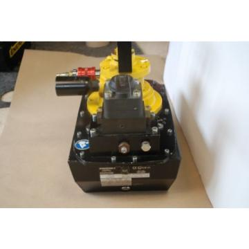ENERPAC ZA4608MX AIR DRIVEN HYDRAULIC PUMP 10000PSI 3WAY 3POS VALVE VM33L