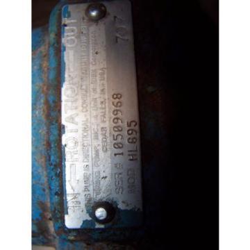 """VIKING 1-1/2"""" PORT HYDRAULIC INTERNAL GEAR PUMP 20 GPM 1200 RPM HL895"""