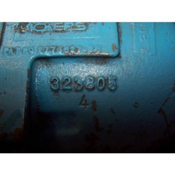 "NEW VICKERS TA15 HYDRAULIC VARIABLE PISTON PUMP  323805  SHAFT 7/8"""