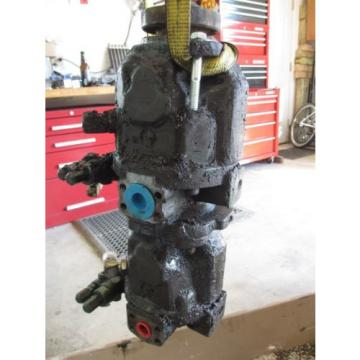 Brueninghaus Hydromatic AA10VS045DRG/31R-PKC62K03 Tandem Hydraulic Pump 02400439