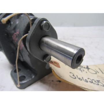 "Brown & Sharpe No. 1 Hydraulic Rotary Gear Pump 1.1 GPM at 200PSI 9/16"" Shaft"