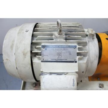 Daikin 5hp Hydraulic Unit V38A2R-95 Piston Pump 42.3 Gallon Tank Press Comp.