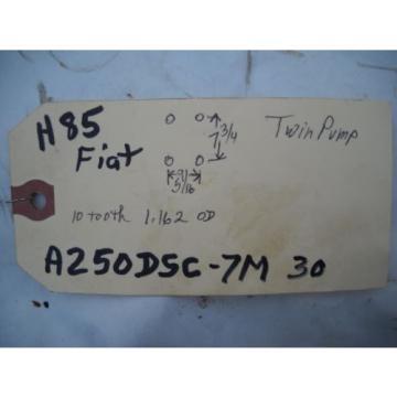 FIAT ALLIS A 250 DSC - 7M 30 TWIN HYDRAULIC PUMP 10 TOOTH