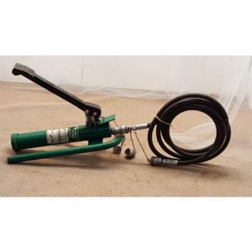 Greenlee 1725 Hydraulic Foot Pump 6500 Psi  76306
