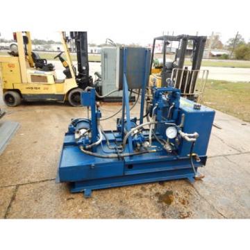 Hydradyne Hydraulic Pump Unit 3 Hp 50 Gallon PV6 Heat Exchanger 208-230/460V