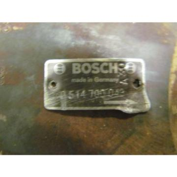 """Bosch 0514700049 Hydraulic Radial Piston Pump 1-1/2"""" Shaft Moog"""