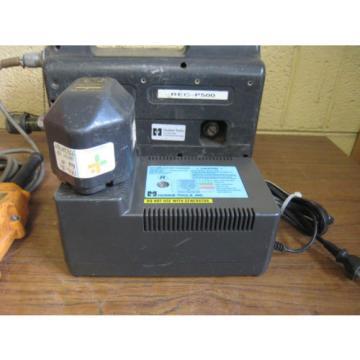 Huskie REC-P500 Hydraulic Pump w/ Pendant Rebuilt BP-70E Battery CH-35R Charger