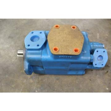 "REBUILT VICKERS 4525V50A141CC10180 ROTARY VANE HYDRAULIC PUMP 1-1/2"" IN 1"" OUT"