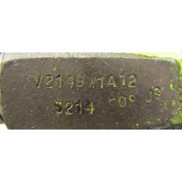VICKERS V2149W1A12 HYDRAULIC VANE PUMP