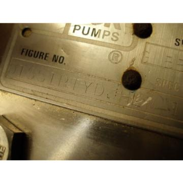 ROPER PUMPS 01SS1PTYDJHLW Rotary Pump, Hydraulic Displacement