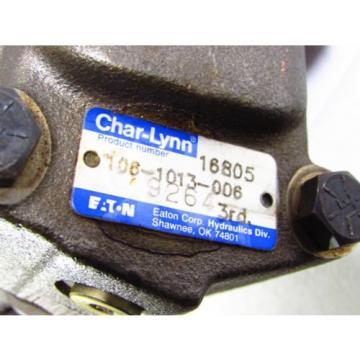 Eaton/Char-Lynn HYDRAULIC MOTOR # 106-1013-006