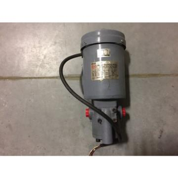 NOP Trochoid Pump and Motor 2P400-216EVS-54 Used and refurbished / AKZ328 AKZ438