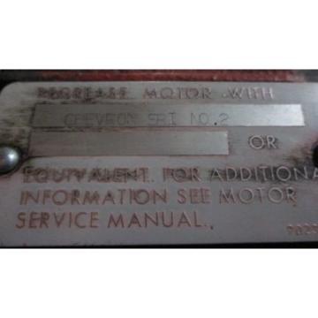 MAGNETEK LOUIS ALLIS HYDRAULIC PUMP W/ PACEMAKER MOTOR .50HP 208V 865 RPM (68)