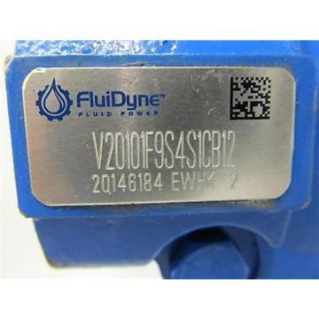 FluiDyne Fluid Power, V2010 Series Hydraulic Pump, V20101F9S4S1CB12